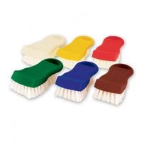 Colour Coded Cutting Board Brush - Red