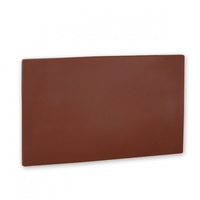 Cutting Board 450 x 610 x 13mm -  Brown