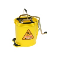 Edco 16 Litre Wringer Bucket - Yellow