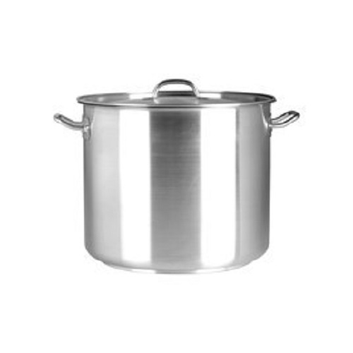 Chef Inox Elite Stockpot 10.75Lt 240x240mm with Lid