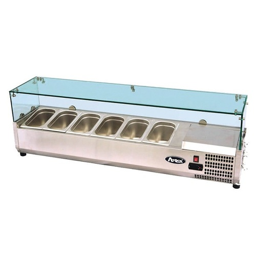 Atosa VRX Counter Top Refrigerated Prep Unit 1600mm (1/4 Pans)