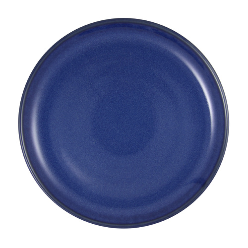 Artistica Round Plate-220mm Rolled Edge Reactive Blue